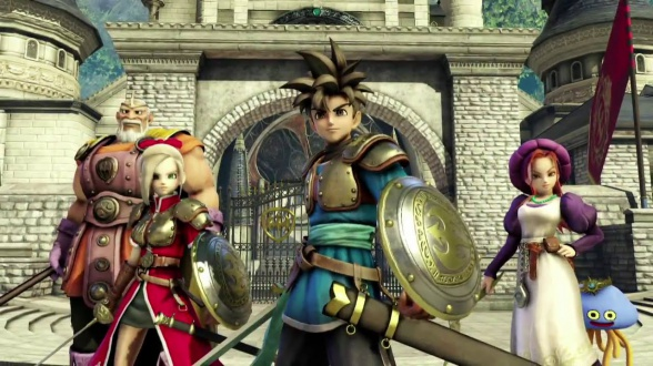 Dragon Quest Heroes- characters