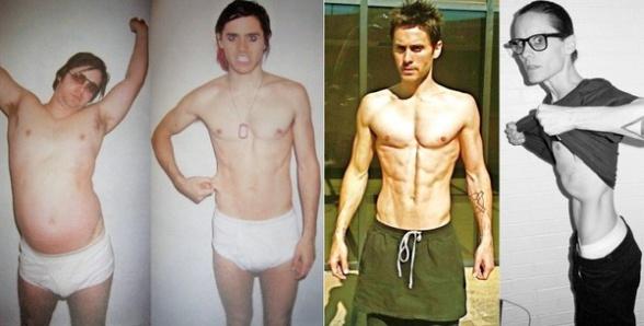 Jared Leto variación de peso