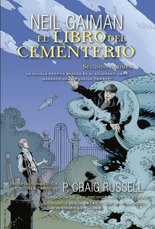 Libro cementerio comic