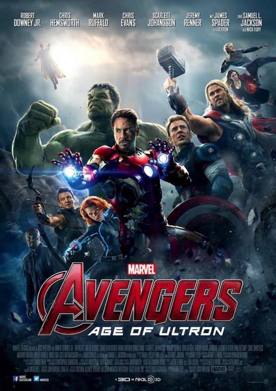 Los Vengadores 2 (2015) [Dvdrip] [Español Latino]