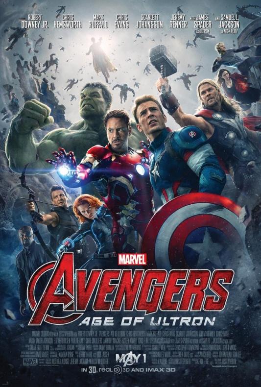 Los Vengadores: La era de Ultrón Sorpresas en los posters principal