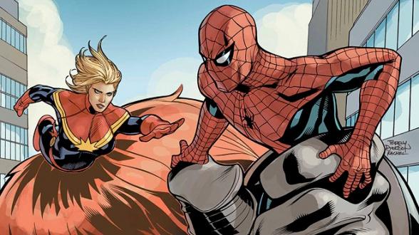 Marvel Studios Spider-Man Captain Marvel