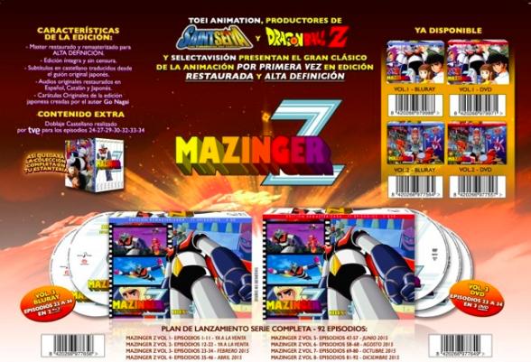 Mazinger Z Box 3