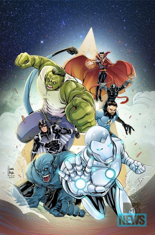 Mujeres de Marvel Nuevos Vengadores Nº31