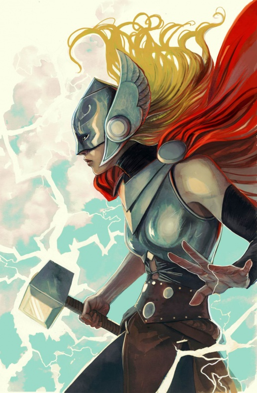 Mujeres de Marvel Thor nº7