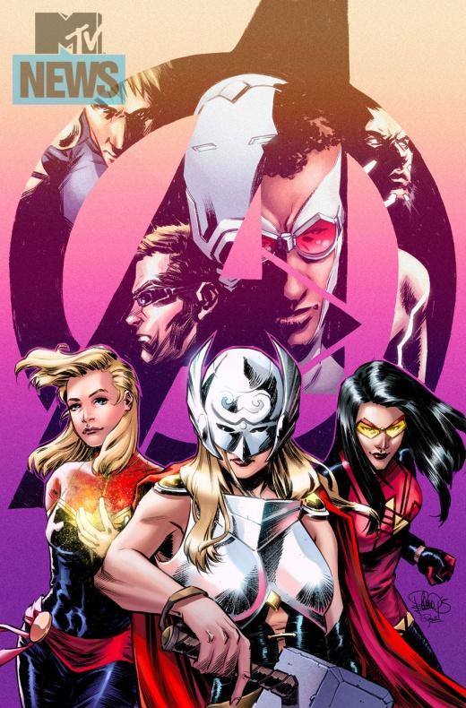 Mujeres de Marvel Vengadores nº42