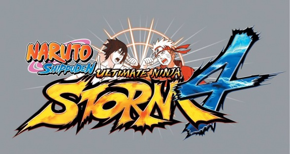 Naruto Shippuuden Ultimate Ninja Storm 4 (logo)