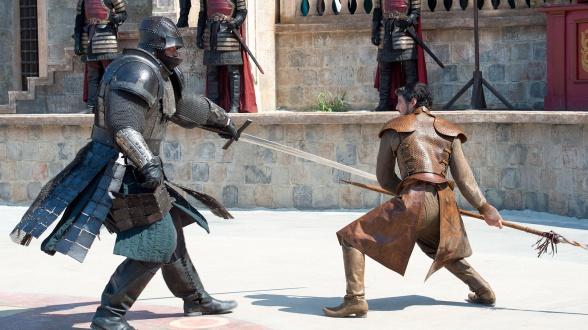 Oberyn Martell Gregor Clegane Canción de Hielo y Fuego