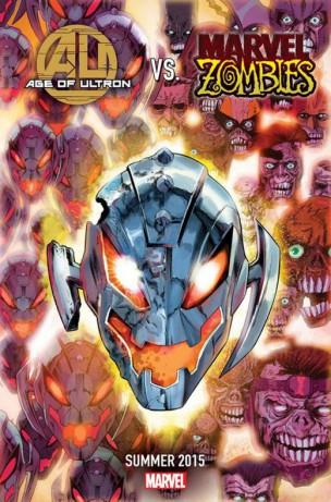 Portada de Age of Ultron vs. Marvel Zombies