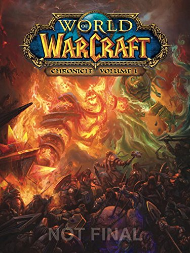 Portada (no final) de World of Warcraft Chronicle
