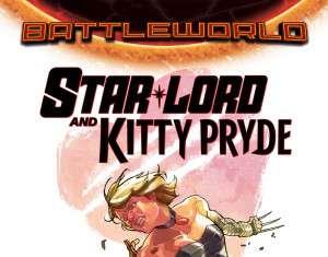 Star-Lord y Kitty Pride portada