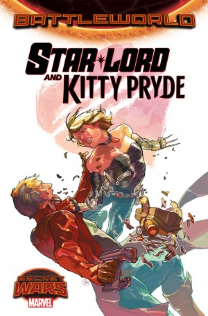 Star-Lord y Kitty Pride portada