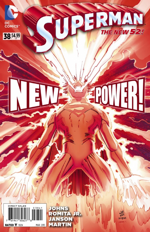Superman 38 portada
