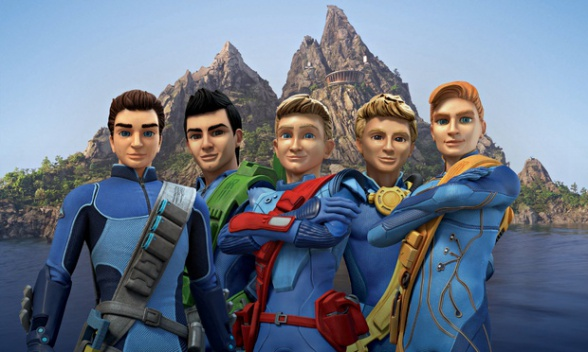 Thunderbirds Are Go familia Tracy