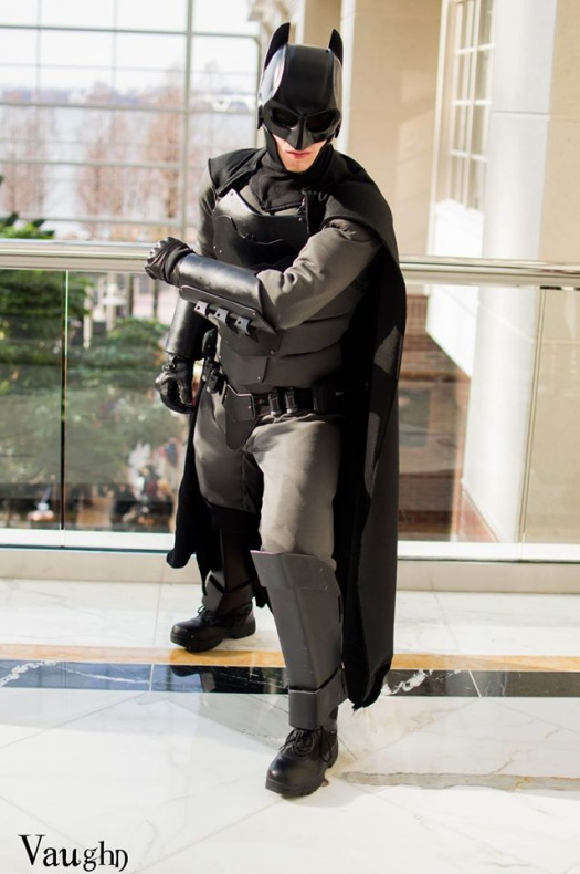 Traje de Batman hecho por fan 01