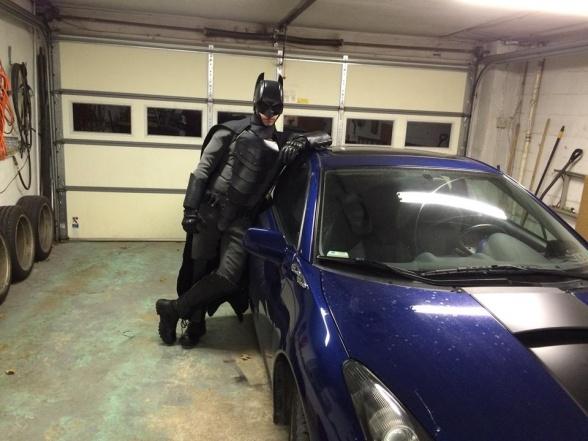 Traje de Batman hecho por fan 08