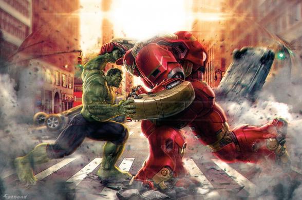 Promo FatHead Iron Man HulkBuster
