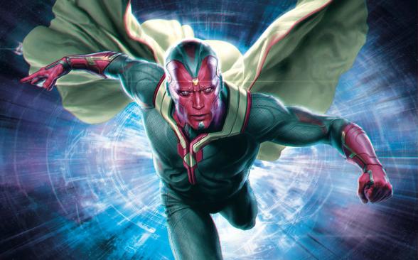 Vengadores la era de Ultrón - Promo la Visión 01