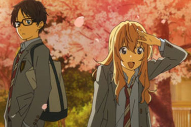 Your lie in April cover