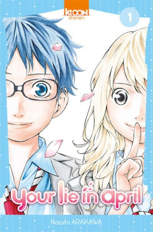 Your lie in April portada 1