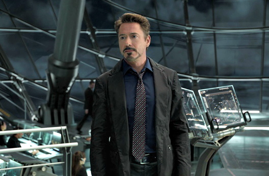 downey jr tony stark vengadores 2