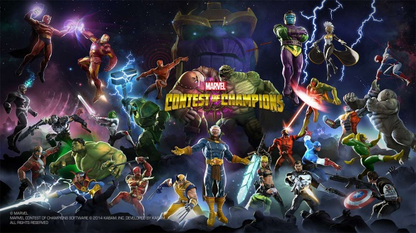 marvel batalla de superheroes