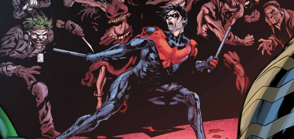 nightwing villanos