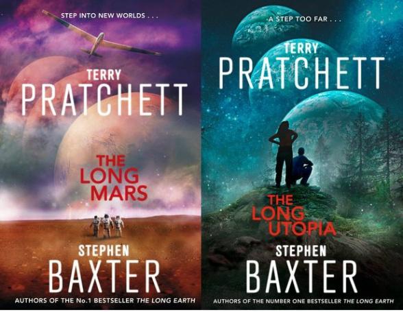 The Long Mars y The Long Utopia, sigue la saga de La Tierra Larga de Stephen Baxter y Terry Pratchett