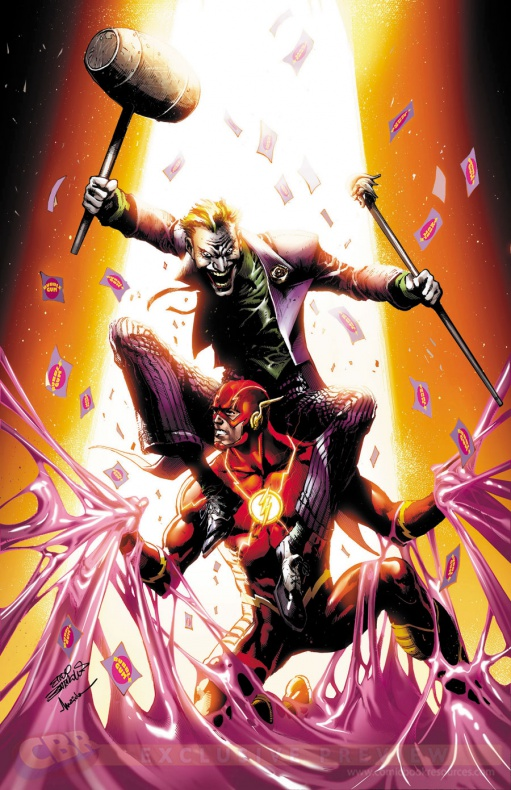 The Flash #41 por Eddy Barrows y Marcelo Maiolo