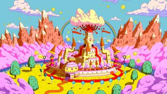 Adventure Time candy kingdom