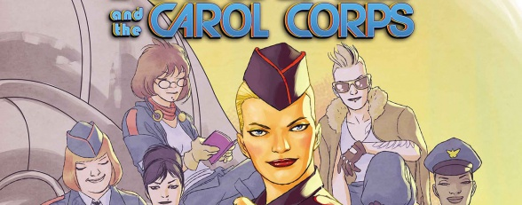Captain Marvel and the Carol Corps Logo