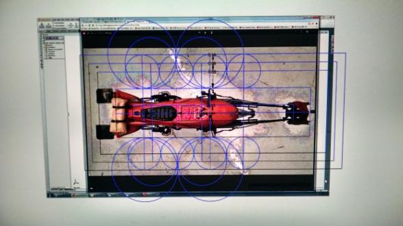 Dron Star Wars Speeder Bike 02