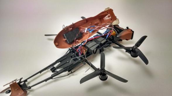 Dron Star Wars Speeder Bike 09