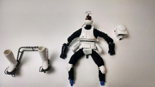 Dron Star Wars Speeder Bike 14