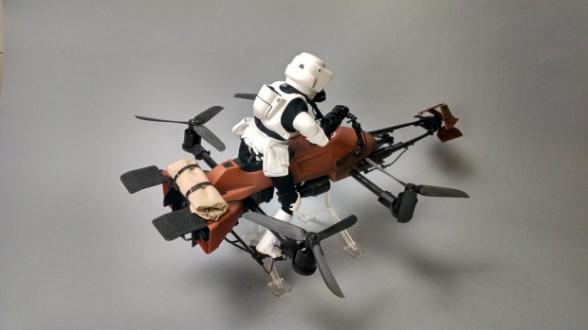 Dron Star Wars Speeder Bike 21