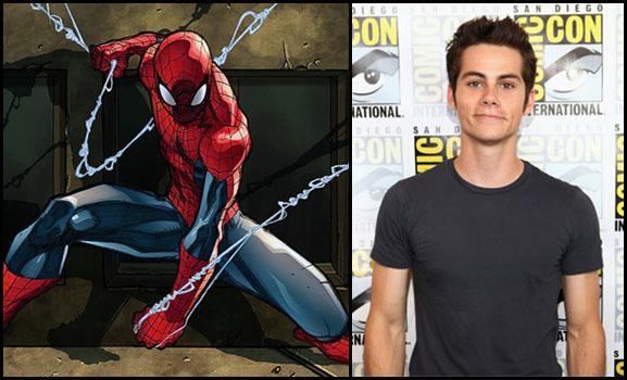 Dylan O'Brien Spiderman