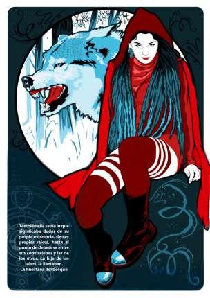 El manjar inmundo - Ilustraciones de Calavera Diablo - Caperucita