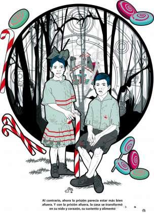 El manjar inmundo - Ilustraciones de Calavera Diablo - Hansel y Gretel