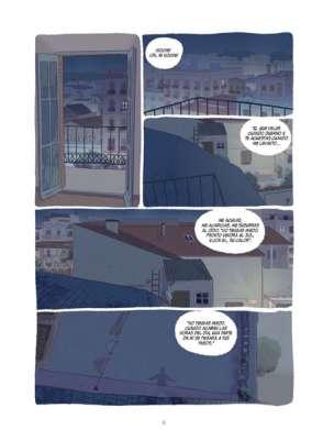 El paseo de los sueños viñetas