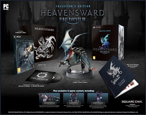 Final Fantasy XIV: Heavensward Edición Coleccionista