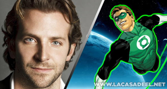 Green Lantern Bradley Cooper