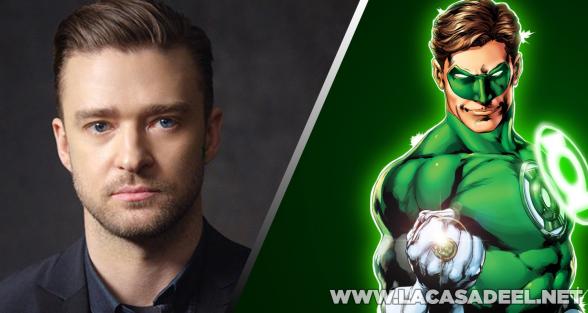 Green Lantern Justin Timberlake