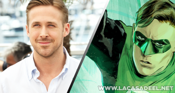 Green Lantern Ryan Gosling