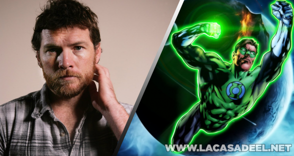 Green Lantern Sam Worthington