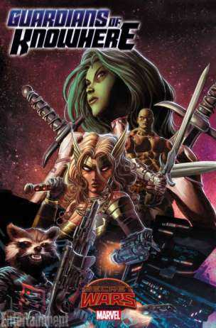 Guardians of Knowhere Secret Wars portada