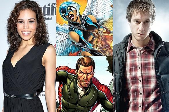Hawkgirl y Rip Hunter - CW spin-off