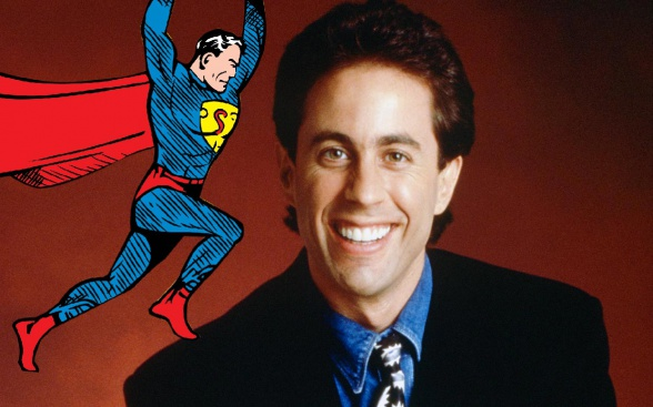 Jerry Seinfeld Superman