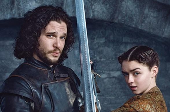 Jon nieve arya stark ew