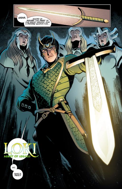 Serie Loki - Loki Comics