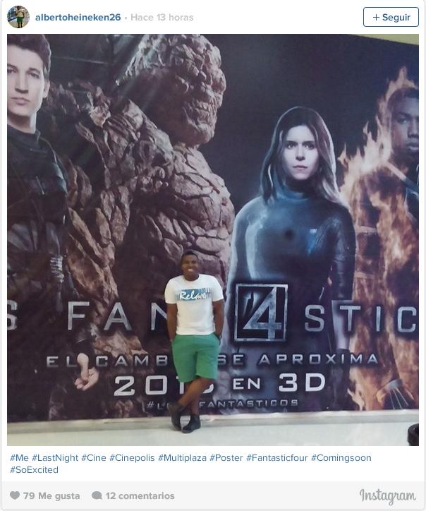 Los 4 Fantásticos - Instagram albertoheineken26